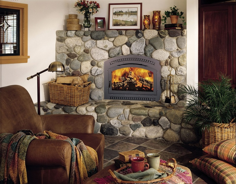 FireplaceX Wood fireplaces