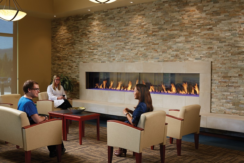 Davinci Custom Gas Fireplace